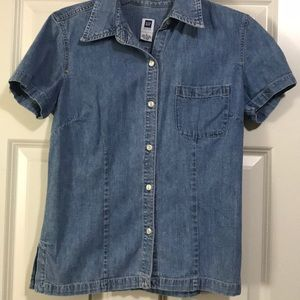 Gap Factory Denim top.